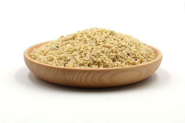 LOGO_Organic hulled hemp seed kernel