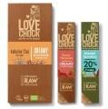LOGO_Lovechock Creamy Yacon/Paranuss Lovechock Mandel/Spirulina Lovechock Creamy Indischer Chai