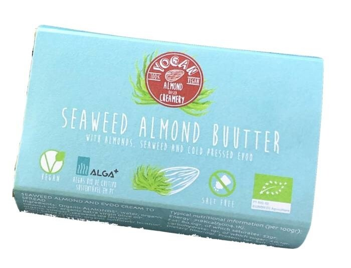 LOGO_Almond milk Buutter - Normal and with seaweed