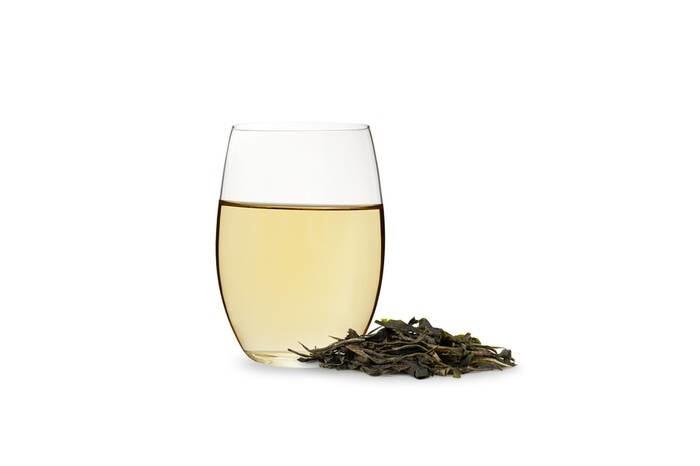 LOGO_Grüner Tee – teilweise hand-gerösteter grüner Tee