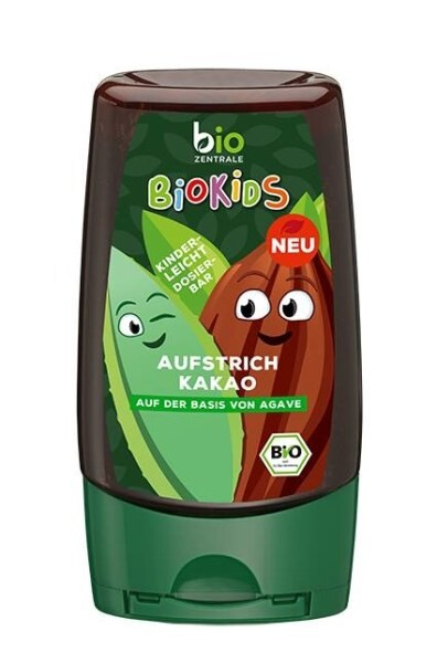 LOGO_BioKids Agave syrup with cocoa