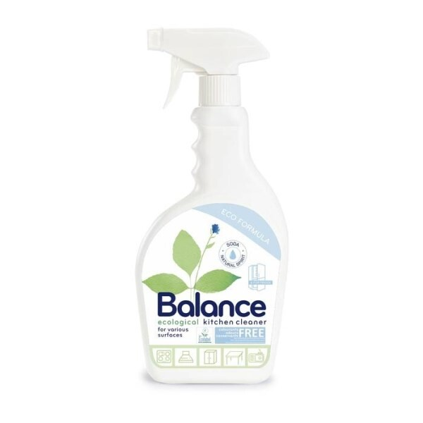 LOGO_BALANCE ecological cleaner for various kitchen surfaces and fridges