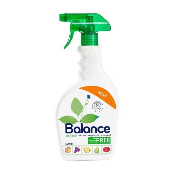 LOGO_BALANCE Reinigungsmittel für rohe Früchte und Gemüse