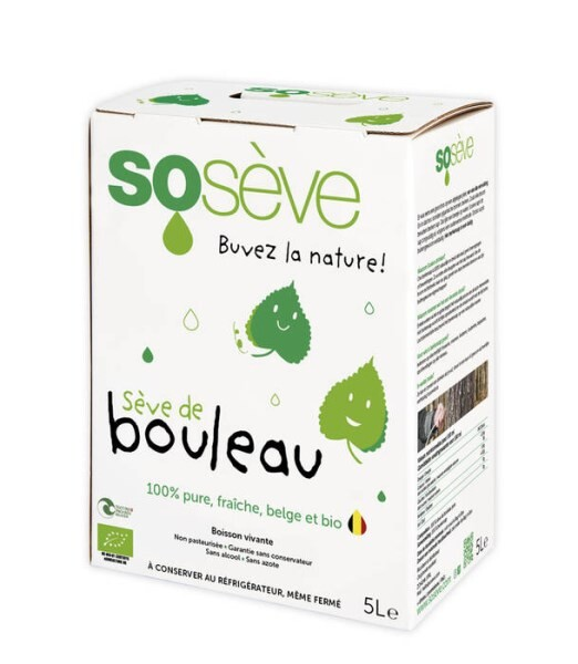LOGO_Sosève 100% pure, natural and organic birch sap