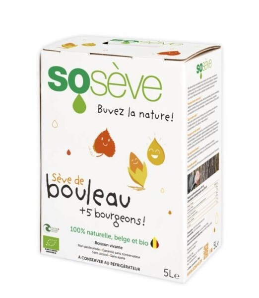 LOGO_Sosève 100% natural and organic birch sap enriched with 5 buds