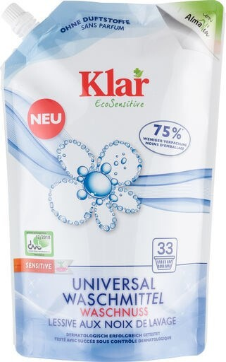 LOGO_Klar EcoSensitive Universal Detergent Soapnut – Eco Pack – FRAGRANCE FREE
