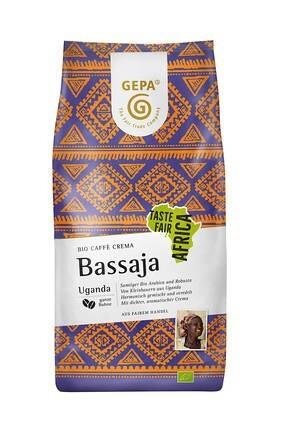LOGO_Bio Kaffee Crema Bassaja, ganze Bohne, 1000 g