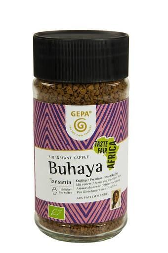 LOGO_Bio Instant Kaffee Buhaya, 100 g