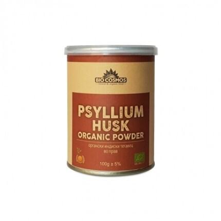 LOGO_Organic psyllium husk powder 100 g