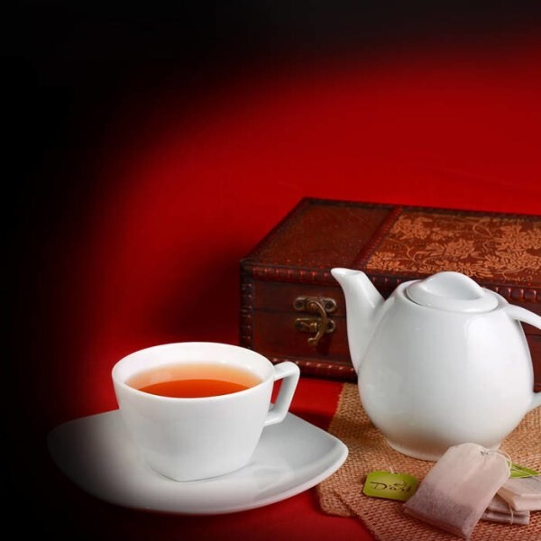 LOGO_Decaffeinated, flavored and herbal tea forms