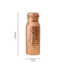 LOGO_TO GO COPPER WATER BOTTLES