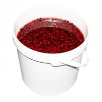 LOGO_Fresh WIld Cranberry with water, 20kg plastic bucket
