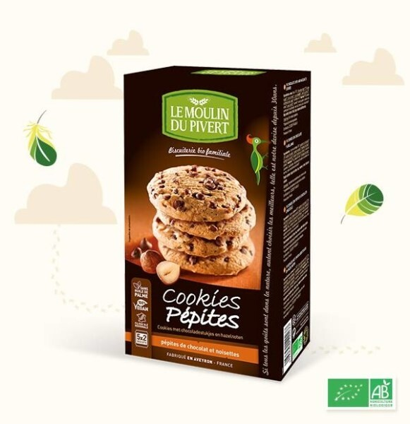 LOGO_THE ORIGINAL COOKIES Chocolate chips and hazelnuts cookies