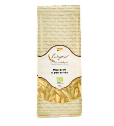 LOGO_Organic - Demeter Mezze Penne durum wheat