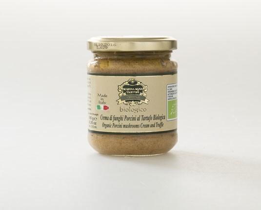 LOGO_organic cream of porcini mushrooms and truffle