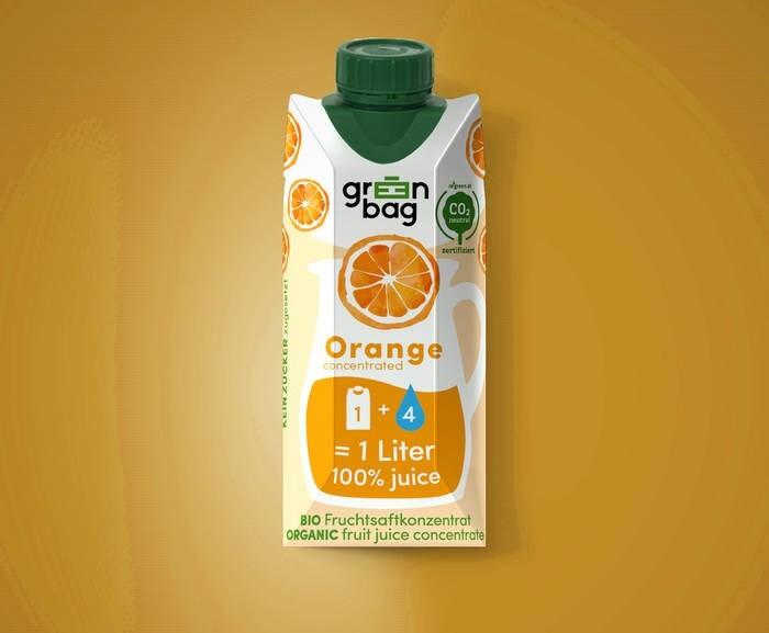 LOGO_Green-Bag organic orange juice concentrate