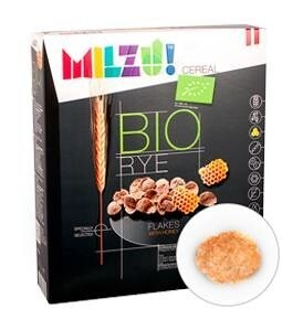 LOGO_MILZU! ORGANIC RYE FLAKES WITH HONEY
