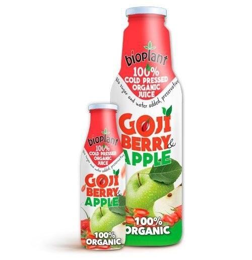 LOGO_100% COLD PRESSED ORGANIC GOJI & APPLE JUICE