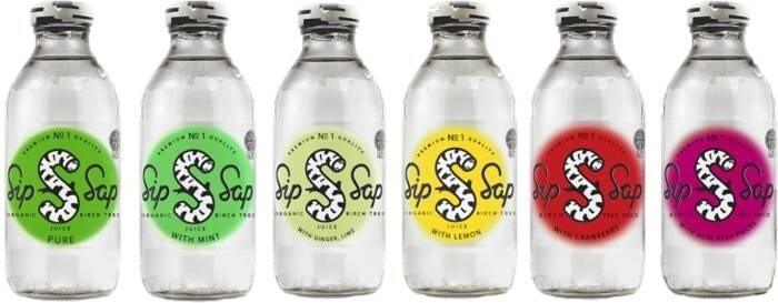 LOGO_SIP SAP organic birch water 330 ml