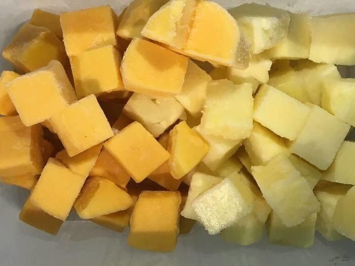 LOGO_Frozen fruits: Organic frozen fruits in chunks and puree