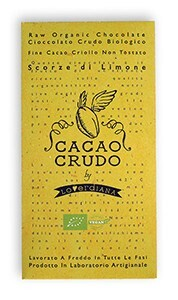 LOGO_Dark Raw Chocolate with Lemon zests (Siracusa Lemon PGI)