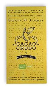 LOGO_Dark Raw Chocolate with Lemon zests (Siracusa Lemon PGI)
