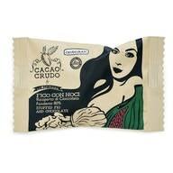 LOGO_Feige mit Nuss, mit einem Überzug aus 80 % Edelbitterschokolade