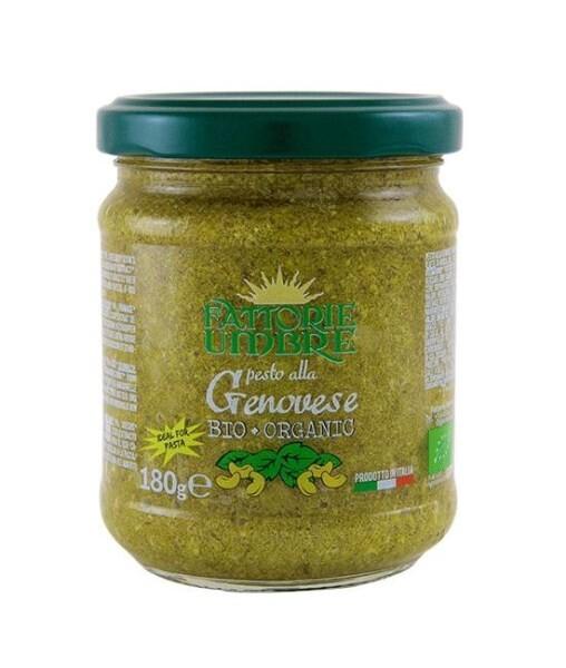 LOGO_ORGANIC Genovese Pesto