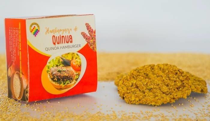 LOGO_dehydrated quinoa burger