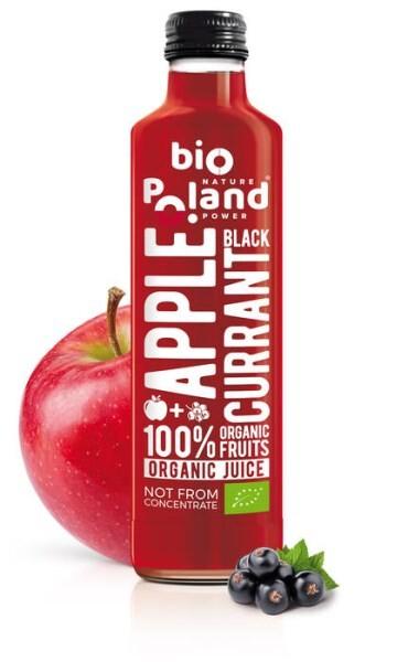LOGO_Bio-Apfel mit Schwarzer Johannisbeere Saft, nicht aus Konzentrat, ohne Zuckerzusatz