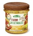 LOGO_Farm vegetables – Corn Pepper Chili