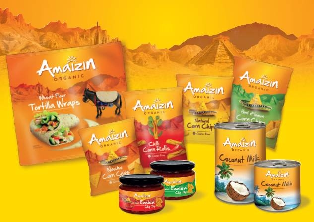 LOGO_Amaizin; local production, authentic recipes