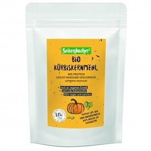 LOGO_Bio - Pumpkin Seed Flour (40% Protein) finely ground