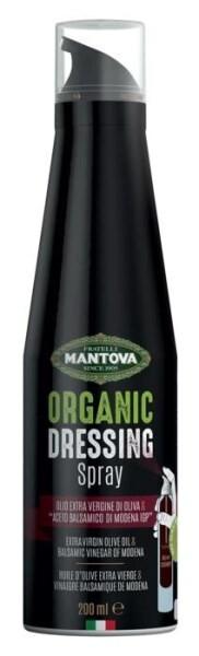 LOGO_Organic Dressing Spray made with Organic Extra Virgin Olive Oil and Organic Balsamic Vinegar of Modena PGI
