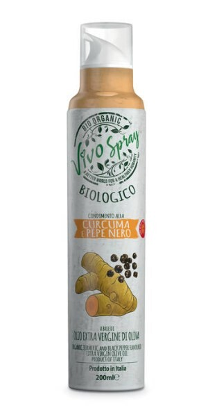 LOGO_Spray Organic Extra Virgin Olive Oil Turmeric and Black Pepper flavoured