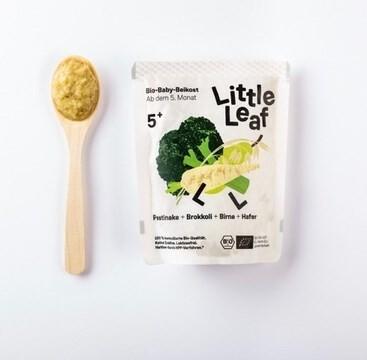 LOGO_Frische Babynahrung: Brokkoli + Pastinake + Birne + Hafer