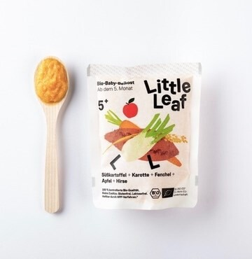 LOGO_Fresh babyfood: Sweet potato + carrot + fennel + apple + millet