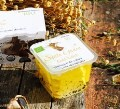 LOGO_Santa Gadea Gold Label Farmstead Organic Goat Cheese in Olive Oil
