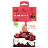LOGO_Organic chocolate coated, freez-dried raspberries 50g
