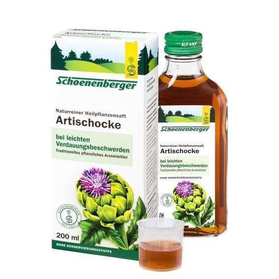 LOGO_Schoenenberger® Artischocke, Naturreiner Heilpflanzensaft
