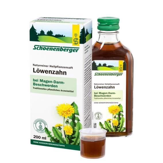 LOGO_Schoenenberger® Löwenzahn, Naturreiner Heilpflanzensaft