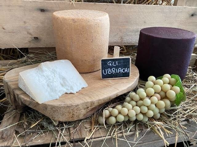 LOGO_Cravot ubriaco - Goat cheese with wine