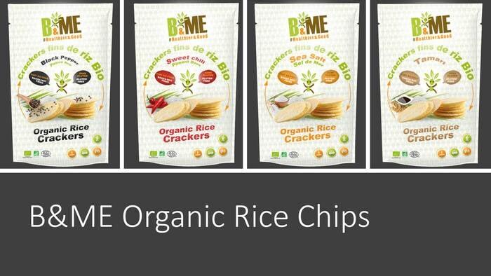 LOGO_100% Organic Baked Rice Chips