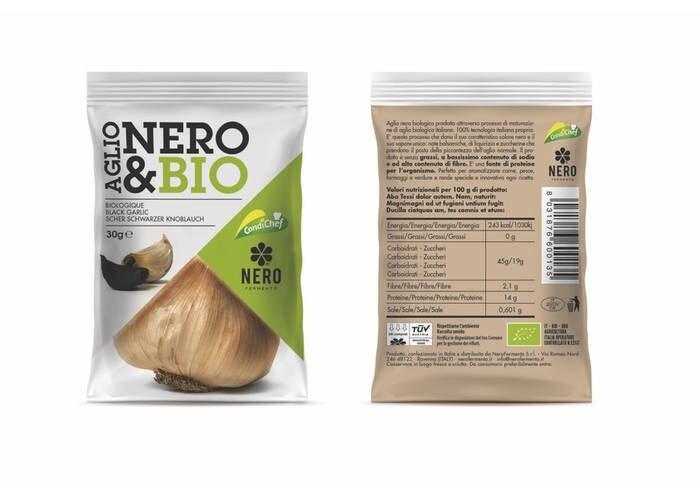 LOGO_Nero&Bio - black garlic cloves