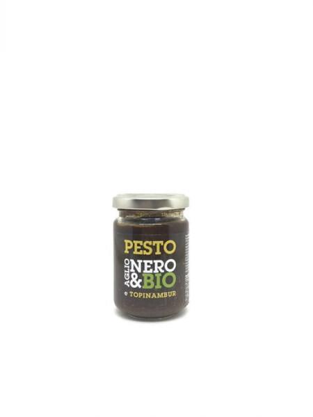 LOGO_Nero&Bio - black garlic topinambur sauce