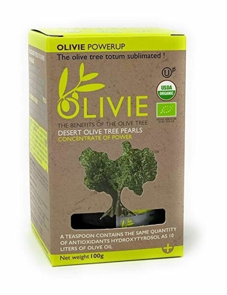 LOGO_OLIVIE POWERUP Wüstenolivenbaumperlen