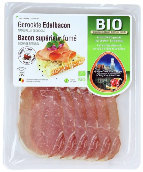 LOGO_Dry cured back bacon 100 g