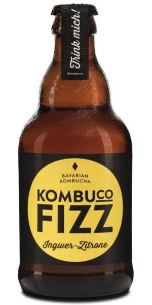LOGO_Kombuco Fizz INGWER-ZITRONE- Bio Kombucha 330ml