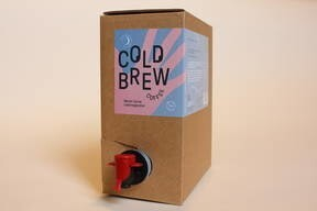 LOGO_Cold Brew Coffee PURE BLACK Ethiopia 3l bag-in-box