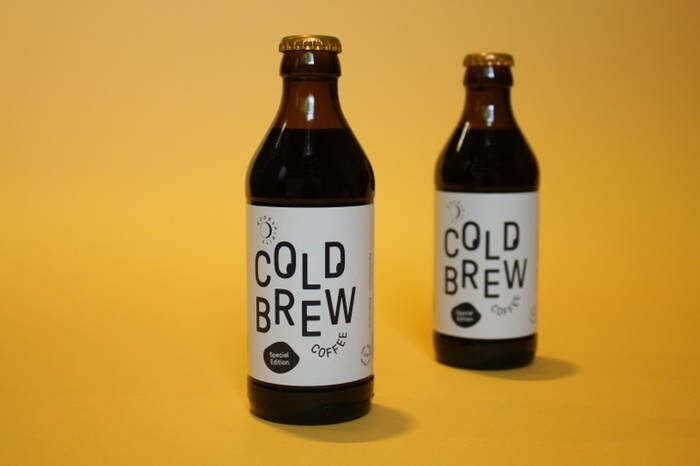 LOGO_Cold Brew Coffee PURE BLACK Peru